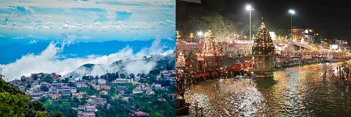 masoori and haridwar